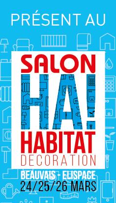 Salon de l 39 habitat de beauvais 24 25 26 mars 60 degr s - Salon de l habitat beauvais ...