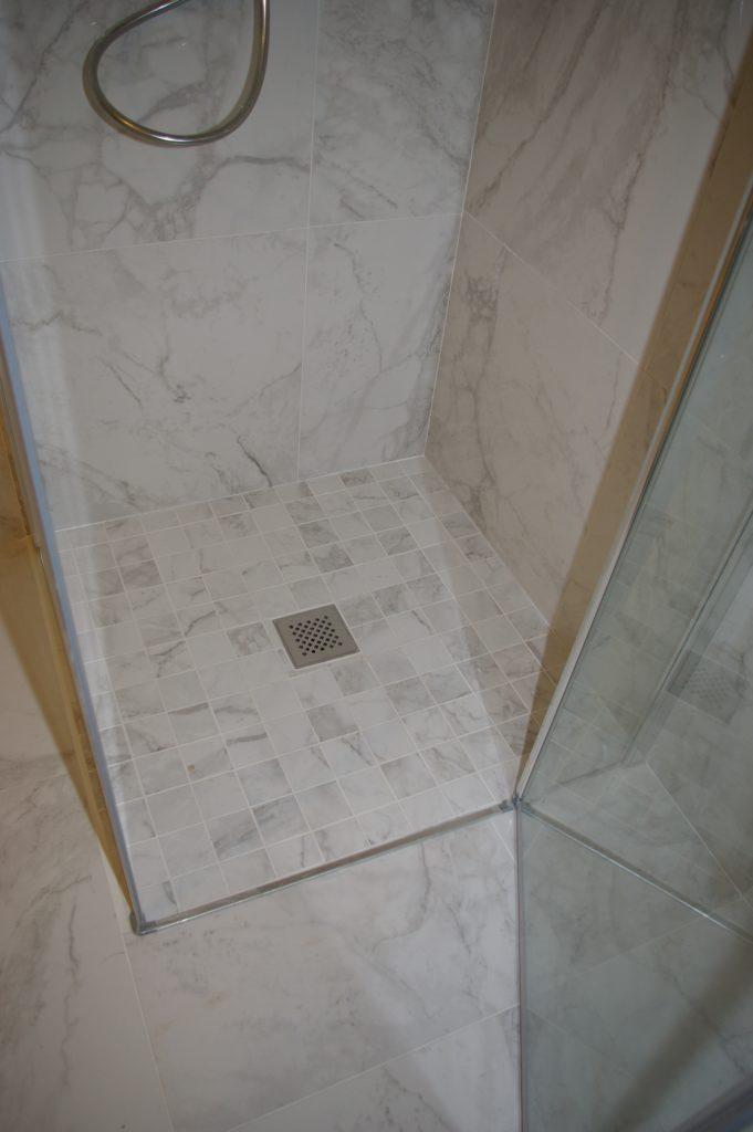 Bac à douche italienne